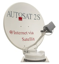 Crystop AutoSat 2Si Internet Satellite System