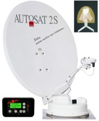 Crystop AutoSat 2 Control Satellite System